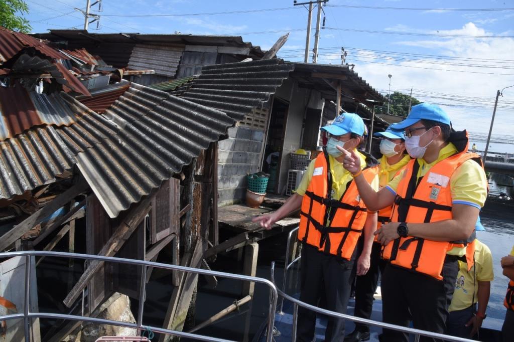 กทม. เดินหน้ารื้อย้ายบ้านร้างริมคลองเปรมฯ  เตรียมความพร้อมก่อสร้างเขื่อนเฟสต่อไป