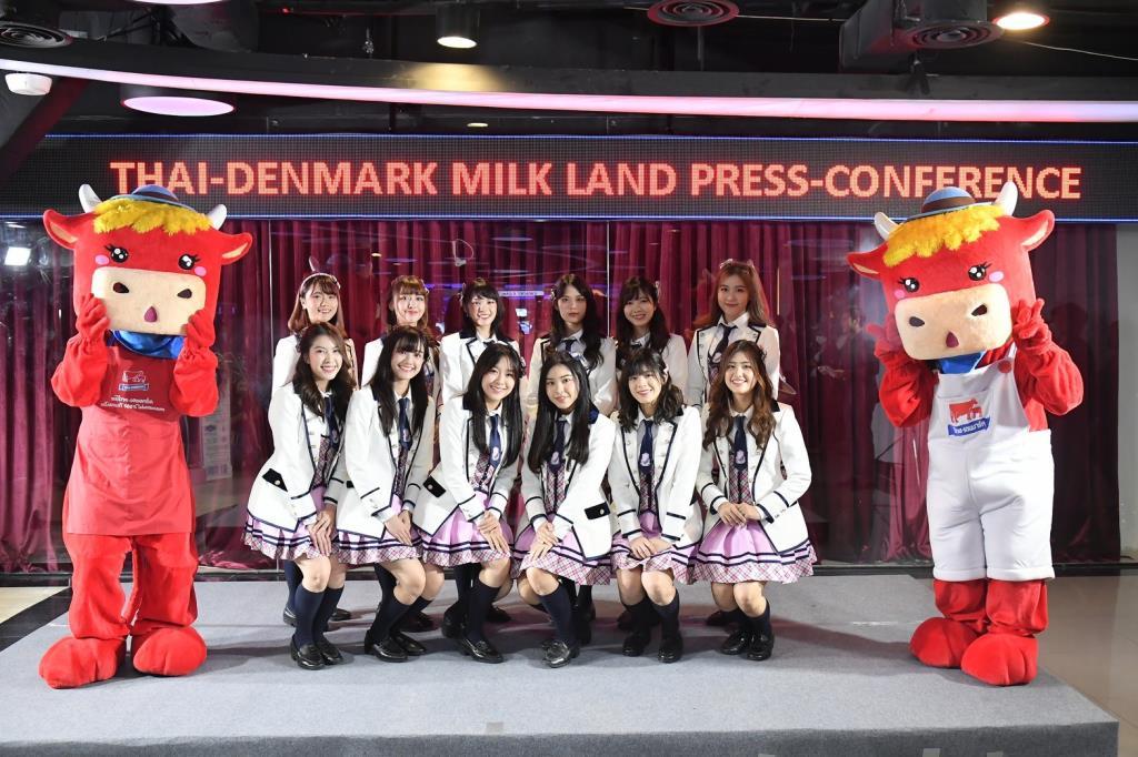 THAI-DENMARK MILK LAND  ดึง BNK48 เจาะวัยรุ่นดื่มนม
