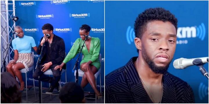 """ชมคลิปสุดสะเทือนใจ """"แชดวิก โบสแมน"""" กลั้นน้ำตาไม่อยู่ เล่าเรื่องเด็กผู้ป่วยมะเร็งพยายามต่อสู้ยื้อชีวิตเพื่อดู Black Panther"""