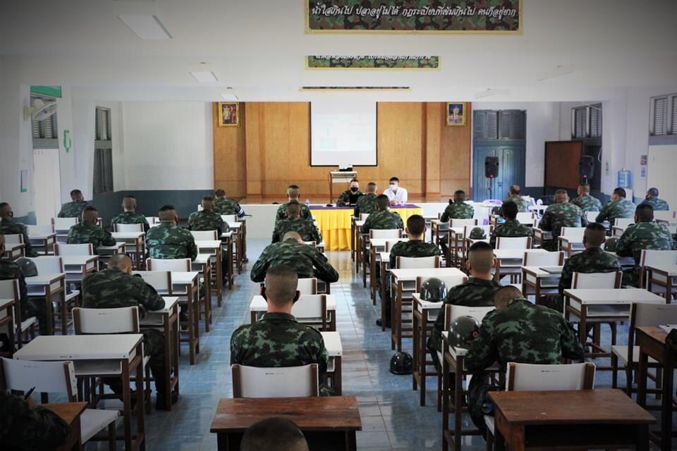 ทบ.เตรียมรับทหารใหม่ 1-3 ก.ย.เปิดให้ญาติชมหน่วยฝึก ยันดูแลสอดคล้องสถานการณ์โควิด