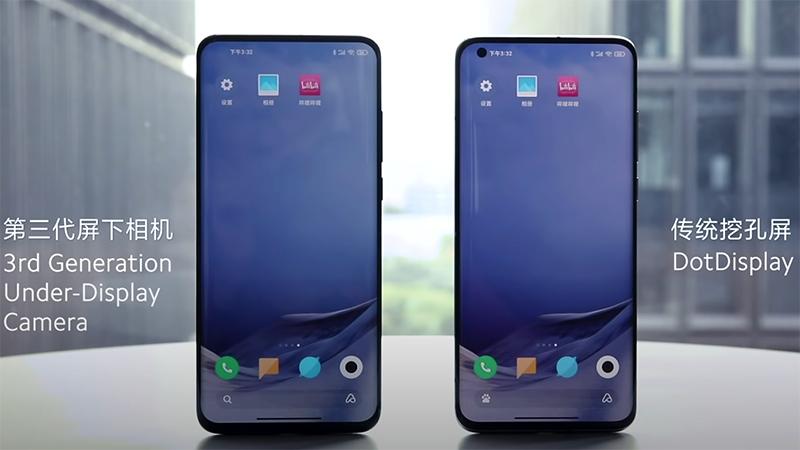 Xiaomi โชว์สมาร์ทโฟนกล้องหน้าใต้จอภาพ พร้อมทำตลาดปีหน้า