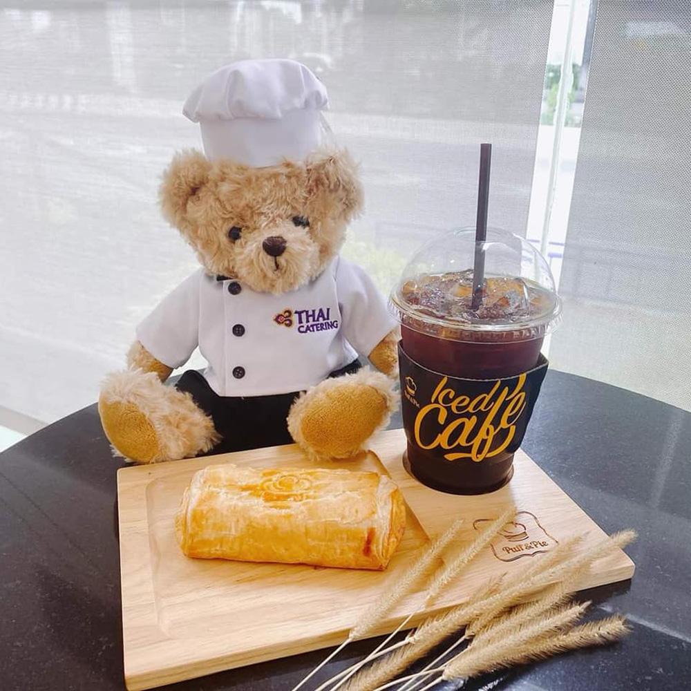 """หนึ่งในเมนูอร่อยจากโปรเจ็กต์ อร่อยล้นฟ้า...ไม่ต้องบินก็ฟินได้ (ภาพจากเพจ """"Thai Airways"""")"""