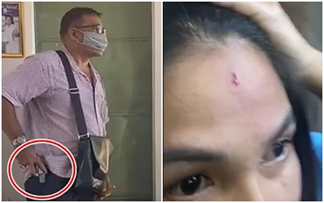 ทวงหนี้โหด!อดีตนักการเมืองท้องถิ่นสมุทรสาครกชักปืนตบหน้าสาวนักธุรกิจ หลังค้ำเงินกู้เพื่อนชาวจีน เหยื่อโร่ร้องทนายดังช่วย