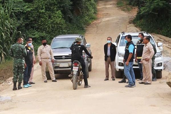 คุมเข้มชายแดนชุมพร-เมียนมา คนไทย-ไทยพลัดถิ่นเข้าออกทำสวน หวั่นแพร่ระบาดโควิด-19