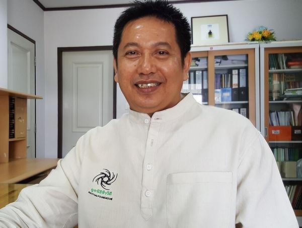 นายวิฑูรย์ เลี่ยนจำรูญ ผู้อำนวยการมูลนิธิชีววิถี หรือไบโอไทย