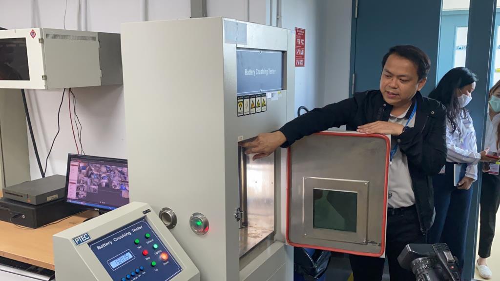 PTEC สวทช.โชว์ศักยภาพศูนย์ทดสอบมาตรฐานแบตเตอรี่ครบวงจรแห่งแรกในไทย พร้อมทดสอบแบต เพาเวอร์แบงก์ทุกยี่ห้อ ต้องได้มาตรฐาน มอก.ก่อนจำหน่าย
