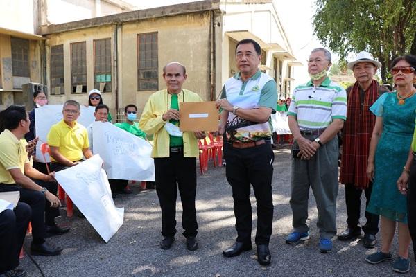 ชาวบ้านเมืองกาญจน์วอนผู้ว่าฯ ช่วยดันโครงการพัฒนาพื้นที่โรงงานกระดาษไทย