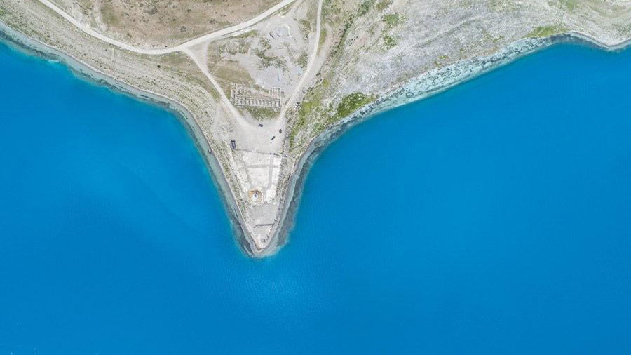 ทะเลสาบหยางจัวยงชั่ว (ภาพ : ซินหัว)