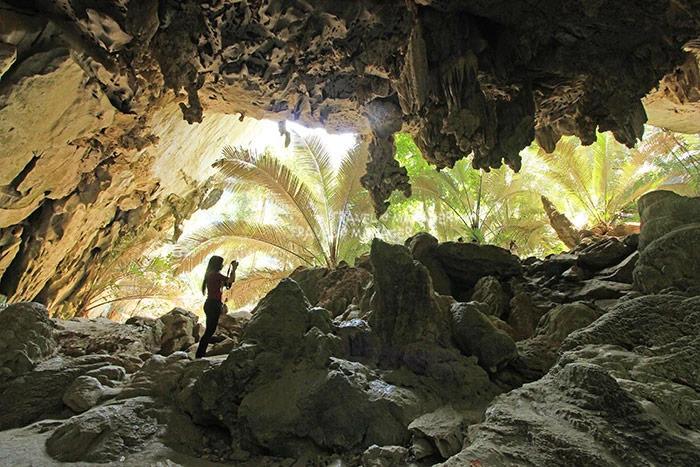 โถงถ้ำไฮไลท์ในหุบป่าตาด