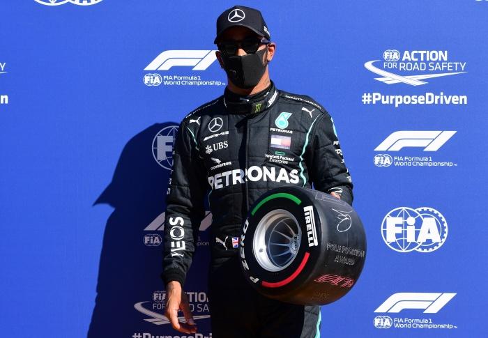 """""""แฮมิลตัน"""" กดเวลาเร็วสุดใน F1 ซิวโพลมอนซ่า """"เฟอร์รารี"""" เดี้ยงคู่"""