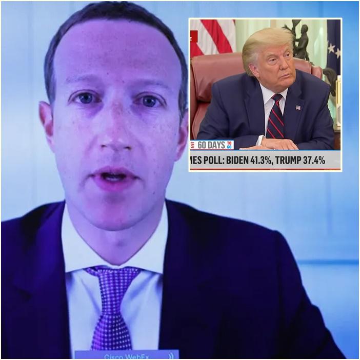 "In Clip: ""ซัคเคอร์เบิร์ก"" รับบอก ""ทรัมป์"" เป็นการส่วนตัว ""คำพูดของผู้นำสหรัฐฯมีปัญหากับเฟซบุ๊ก"""