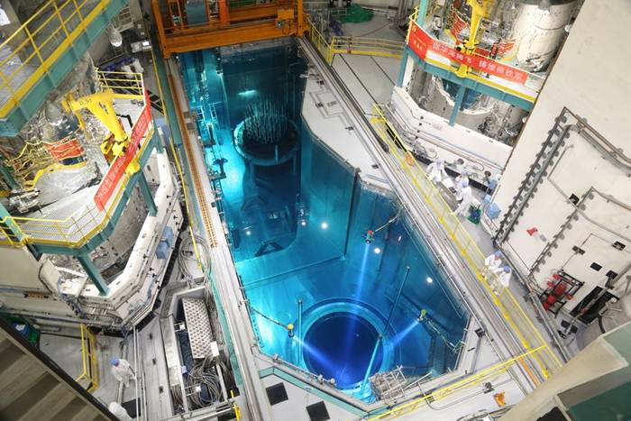 โรงไฟฟ้านิวเคลียร์เทคโนโลยีจีน 'หัวหลง-1' เดินหน้าบรรจุเชื้อเพลิง (ชมภาพ)