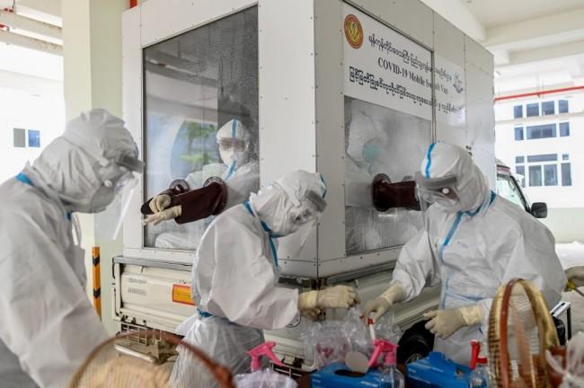 พม่าเจอป่วยโควิดเพิ่มอีก 45 ราย ยอดติดเชื้อสะสมขยับเป็น 1,464 ราย