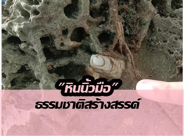 """""""หินนิ้วมือ"""" เกาะคอเขา ยันเป็นปรากฏการณ์ธรรมชาติ วอนช่วยกันดูแล พัฒนาเป็นที่เที่ยว"""