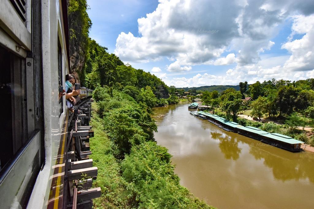 ไฮไลต์ส่วนหนึ่งของเส้นทางรถไฟเที่ยวกาญจนบุรี