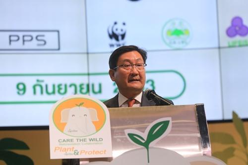 """ตลาดหลักทรัพย์ฯ เดินหน้าลดโลกร้อน ผนึกพันธมิตรดำเนินโครงการ Care the Wild """"ปลูกป้อง Plant & Protect"""""""