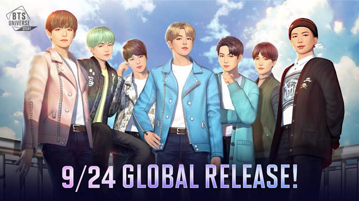 """สายโอปป้าเตรียมพร้อม! เกมมือถือ """"BTS Universe Story"""" เปิดให้บริการ 24 ก.ย.นี้"""
