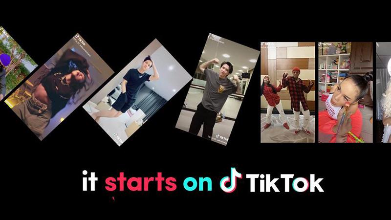 TikTok ชวนผู้ใช้ร่วมแคมเปญ #ItStartsOnTikTokสร้างปรากฏการณ์ฮิต ส่งต่อแรงบันดาลใจ