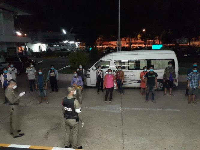 พ่อเมืองอุบลฯสั่งขยายผลจับแก๊งคนไทยลอบนำเข้าแรงงานลาว หลังสกัดได้อีก14ต่างด้าว