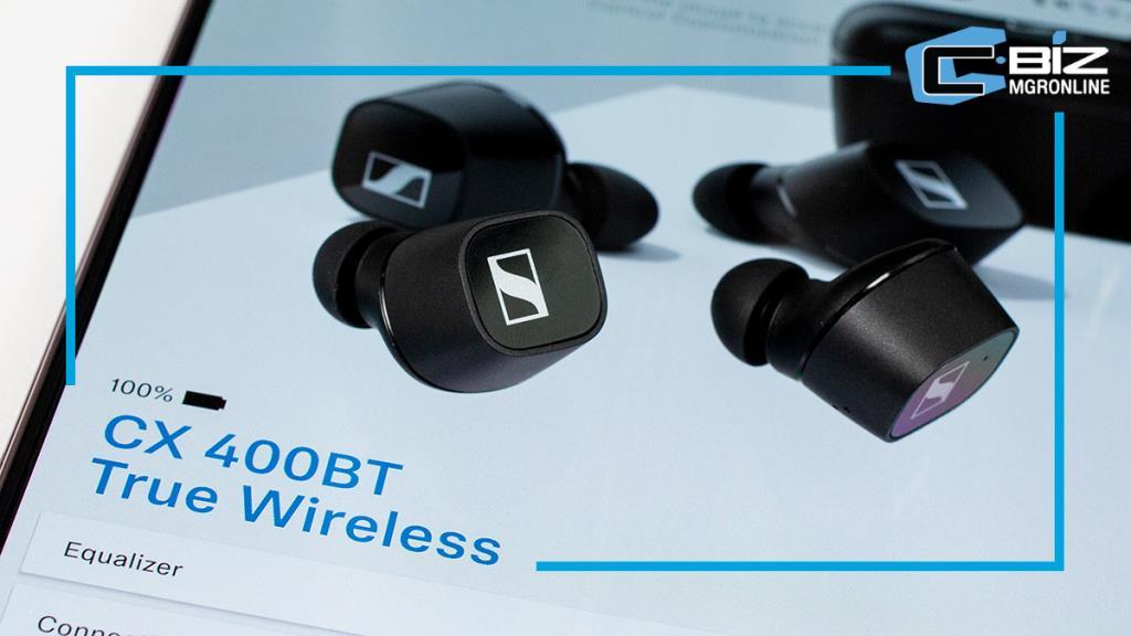 Review : Sennheiser CX 400BT True Wireless หูฟังไร้สายคุณภาพเสียงดี สวมใส่สบาย