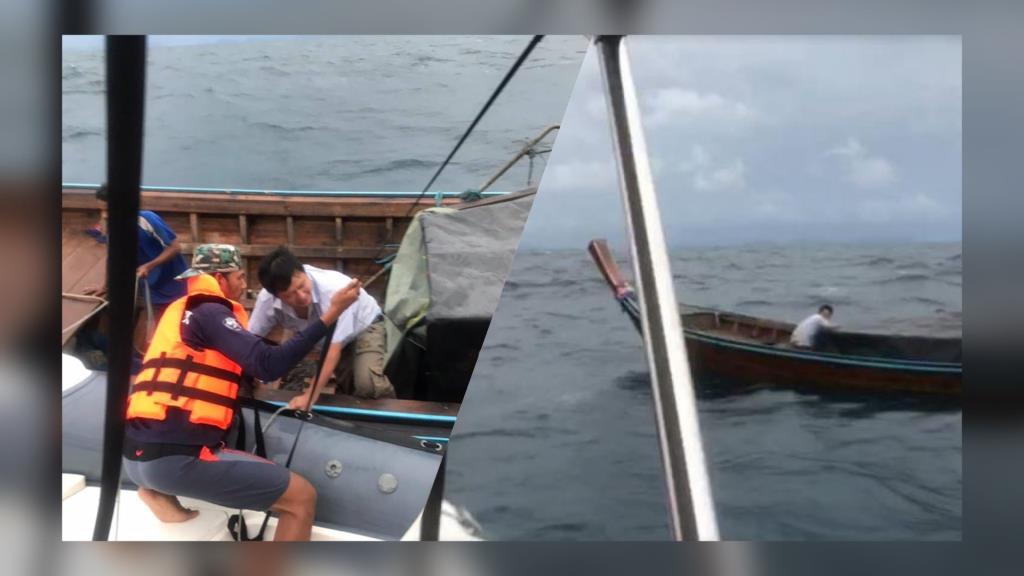 เผยนาทีชีวิต! ขณะเข้าช่วยนักท่องเที่ยว-คนขับเรือหางยาว 3 ชีวิต จากเหตุเรือเสียแถมไม่มีชูชีพ
