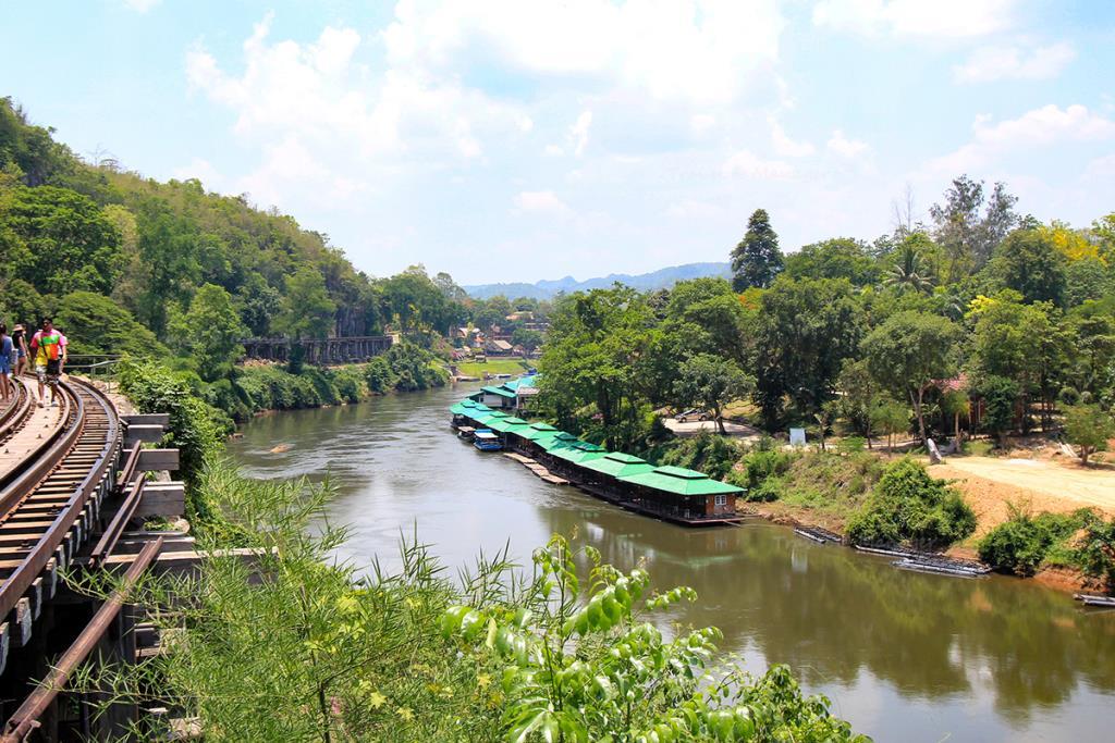 สะพานทางรถไฟบริเวณถ้ำกระแซ