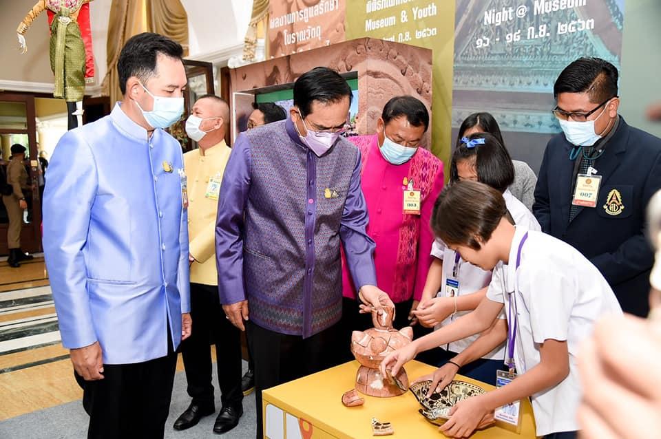 นายกรัฐมนตรีร่วมประชาสัมพันธ์วันพิพิธภัณฑ์ไทย แนะคนไทย รัก สามัคคี ร่วมเดินหน้าประเทศไทย
