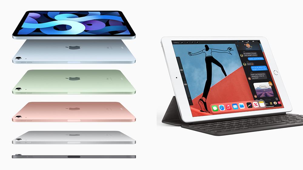 Apple ปรับดีไซน์ iPad Air มาพร้อมชิป A14 Bionic รุ่นใหม่ ส่วน iPad 8 ราคาเริ่มต้นที่ 10,900 บาท