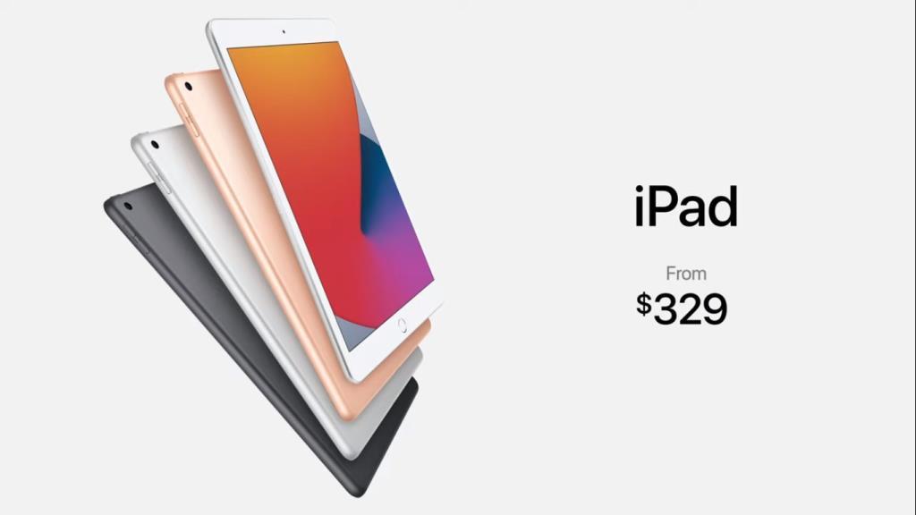 iPad 8 มีราคาสำหรับนักเรียน นักศึกษา รุ่นเริ่มต้นที่10,200 บาท