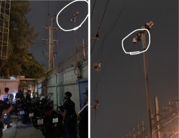 """""""สิงห์เจ้าท่า"""" แจ้งความ กล้อง CCTV ถูกปรับองศา / ห้องควบคุมไฟฟ้าถูกเปิดทิ้งไว้"""