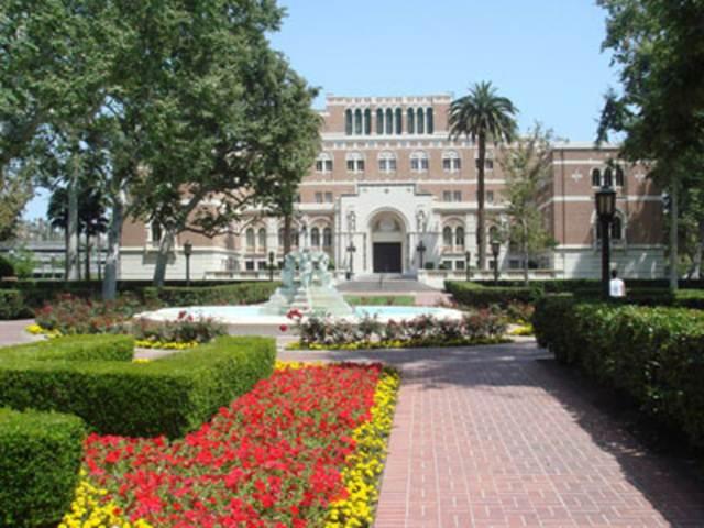 โรงเรียนมาร์แชลล์ธุรกิจ (Marshall School of Business) ของมหาวิทยาลัยเซาท์เทิร์น แคลิฟอร์เนีย (USC) สหรัฐอเมริกา (แฟ้มภาพ)