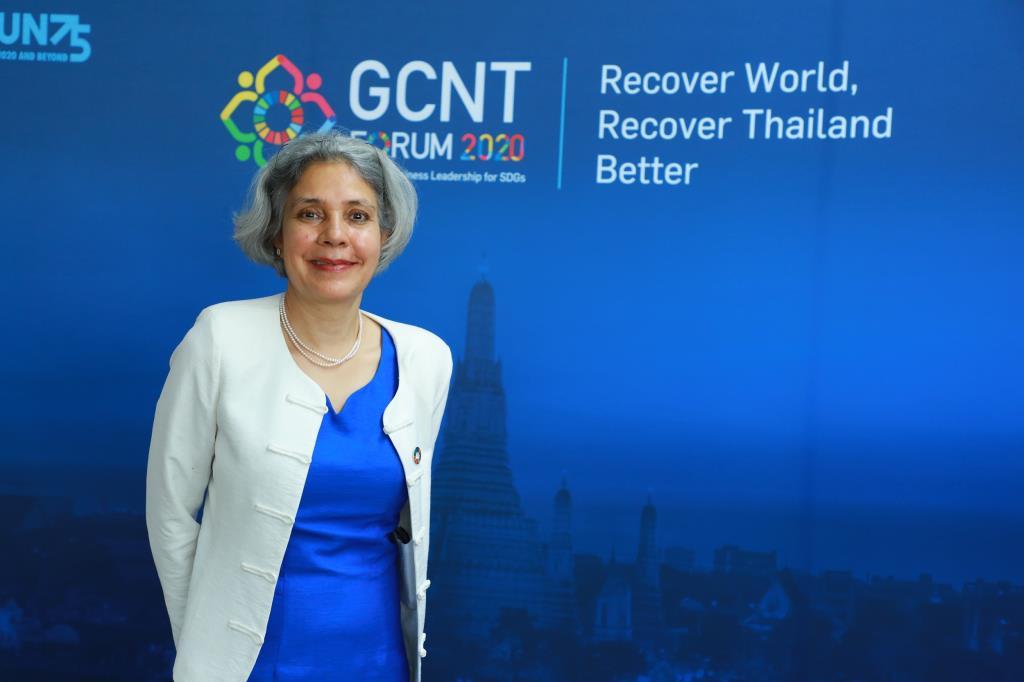 Gita Sabharwal ผู้ประสานงานสหประชาชาติ (United Nations Resident Coordinator - UNRC) ประจำประเทศไทย