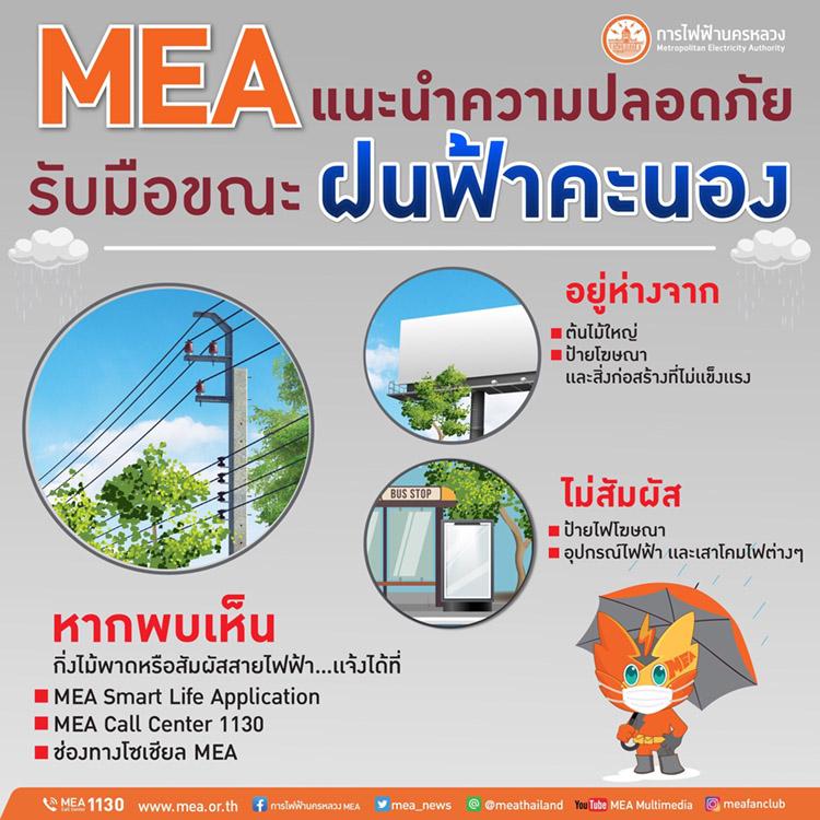 อันตรายจากไฟฟ้าในหน้าฝน อย่าประมาท เราป้องกันได้