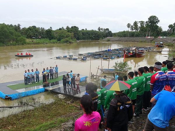 สตูลเจ้าภาพ จัดการแข่งขันกีฬาเรือพายชิงชนะเลิศภาคใต้ ประจำปี 2563