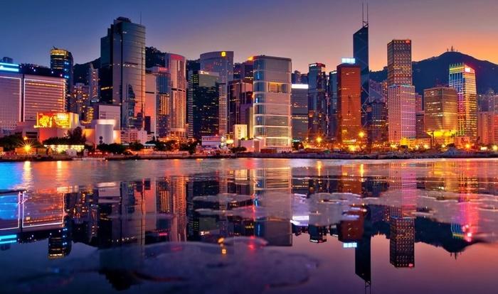 อาคารระฟ้าในฮ่องกง