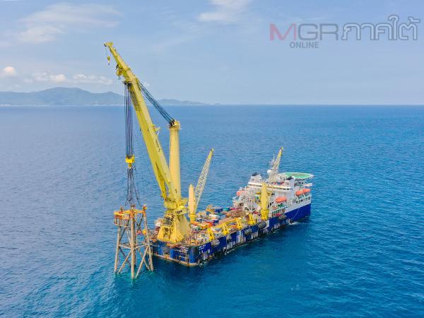เดินหน้าวาง 7 ขาแท่นปิโตรเลียมเป็นปะการังเทียมครั้งแรกในประเทศไทย
