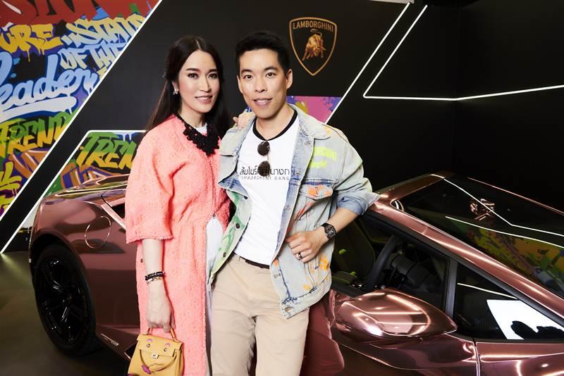 """ลัมโบร์กินี เปิดตัวแบรนด์แอมบาสเดอร์คนแรกของไทย  """"ชมพู่-อารยา เอ ฮาร์เก็ต"""""""