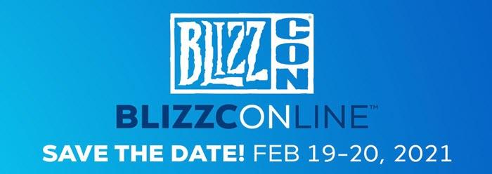 บลิซซาร์ดประกาศจัดงาน BLIZZCON แบบออนไลน์ 19-20 ก.พ. 64