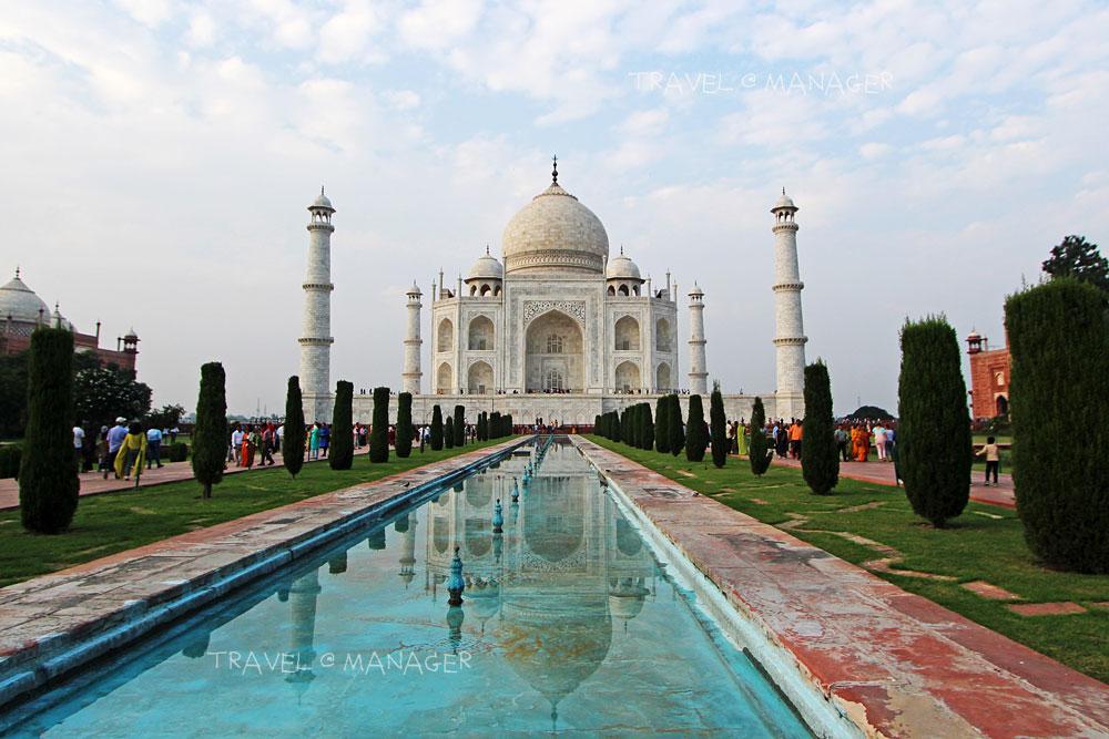 อินเดียเปิดทัชมาฮาล-ป้อมอัครา รับนักท่องเที่ยวอีกครั้ง หลังโควิดระบาด