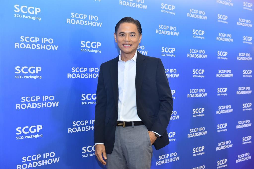 วิชาญ จิตร์ภักดี  ประธานเจ้าหน้าที่บริหาร SCGP