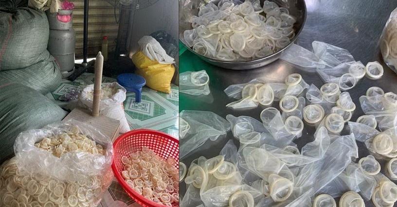 เวียดนามทลายแก๊งรีไซเคิล 'ถุงยางใช้แล้ว' พบกว่า 300,000 ชิ้นถูกเอามาล้างขายใหม่