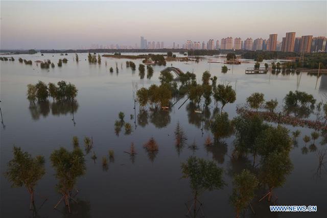 'ฮาร์บิน' อ่วม หลังมวลน้ำจาก 'แม่น้ำซงฮวา' ทะลักท่วม