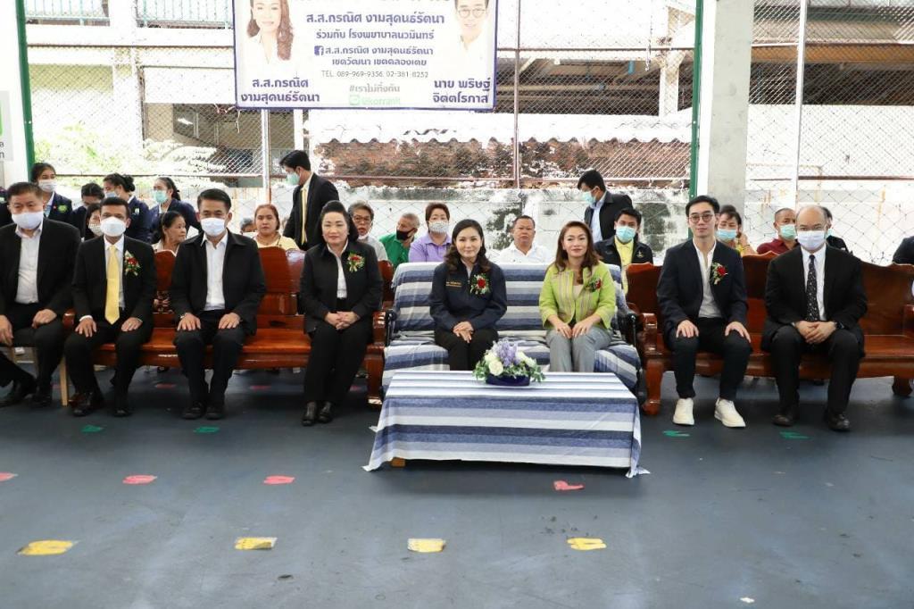 """""""นฤมล""""ลุยคลองเตย กระตุ้นสร้างแรงงานคุณภาพเสริมคนไทยมีงานทำ"""