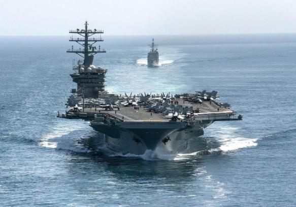 USS Nimitz เรือบรรทุกเครื่องบินของกองทัพเรือสหรัฐอเมริกา