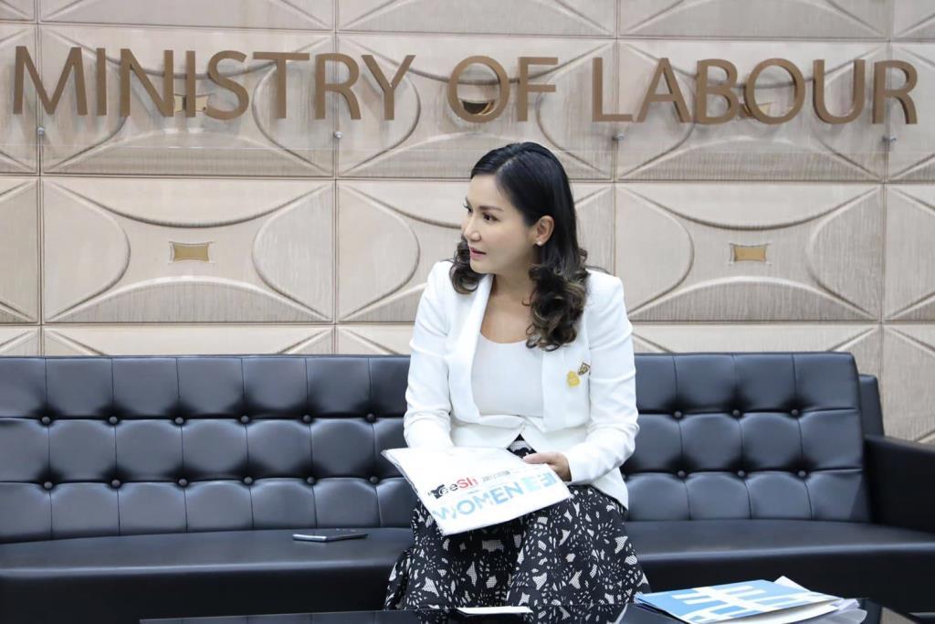 รมช.แรงงานชี้ แรงงานสตรีเป็นพลังสร้างเศรษฐกิจและสังคม