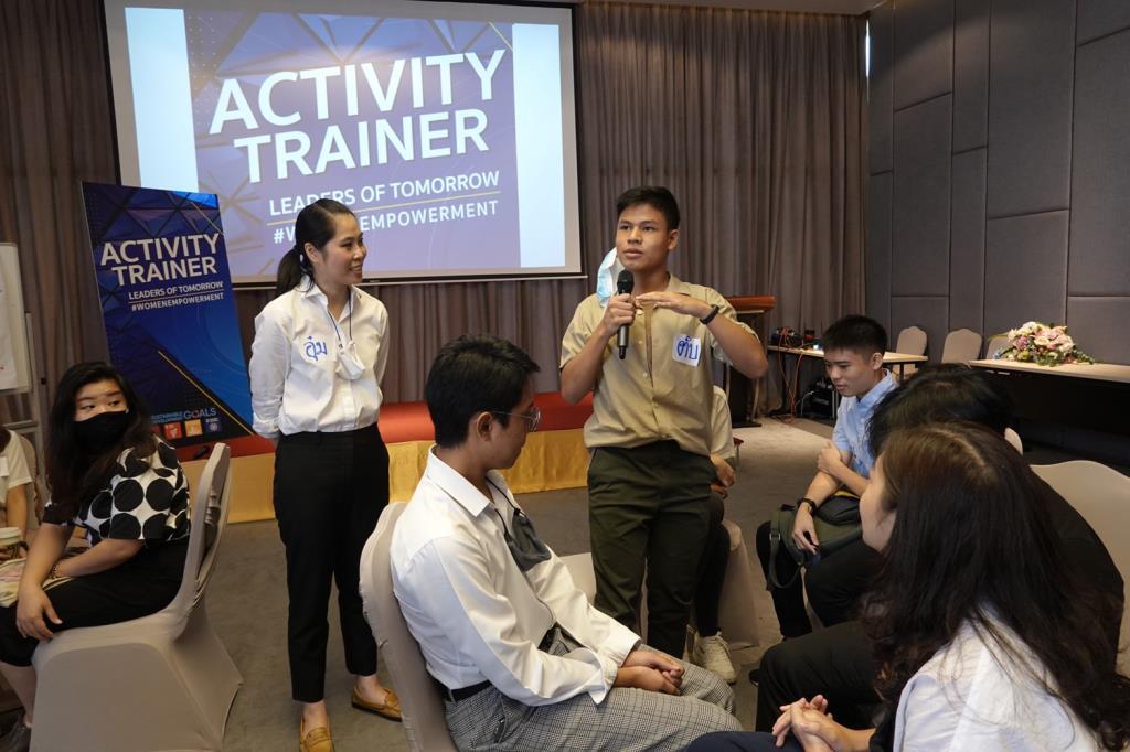 """""""ธณิกานต์"""" เปิดตัวโครงการ """"Activity Trainer"""" สร้างเยาวชนเป็นผู้นำ ขับเคลื่อนประเทศทัดเทียมเวทีโลก"""