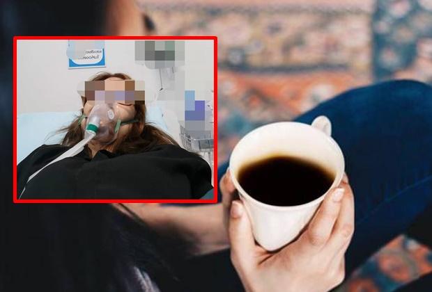 สาวเล่าสาวเล่านาทีชีวิต เกือบตายเพราะดื่มกาแฟ ขณะขับรถ โชคดีเจอแท็กซี่ฮีโร่ช่วยเหลือได้ทัน