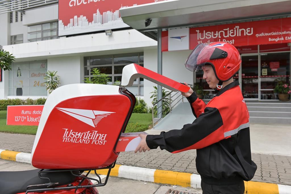 'ปณท' ร่วมรักษ์โลกใช้จักรยานยนต์ไฟฟ้านำส่งไปรษณียภัณฑ์