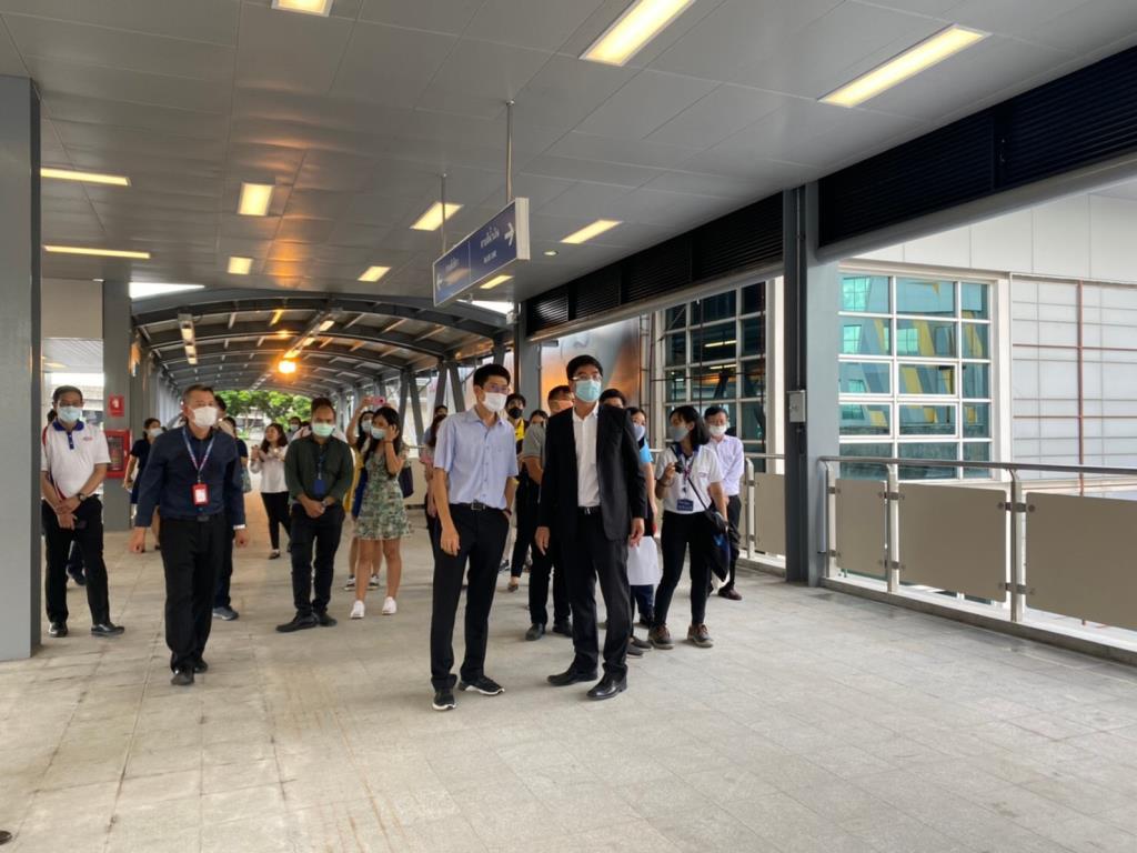 รฟม.พร้อมเปิดSkywalkเชื่อมสถานีพหลฯกับห้าแยกลาดพร้าว 5 ต.ค.นี้