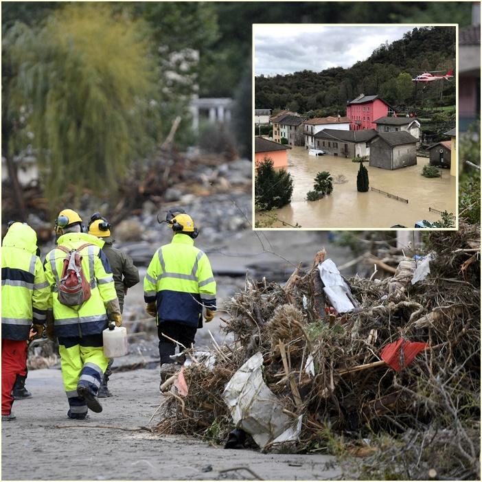 InPics&Clip: พายุซัดยุโรป! พบ 7 ศพใกล้พรมแดนอิตาลี-ฝรั่งเศสหลังเกิดฝนตกหนักพัดพาบ้านเรือนเสียหาย
